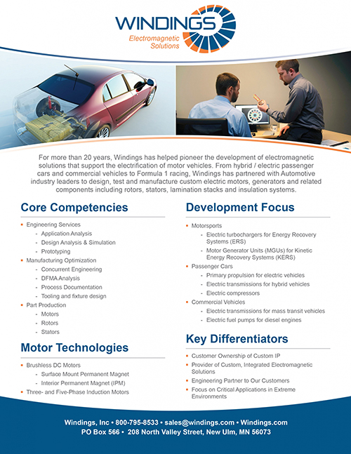 Automotive Capabilities