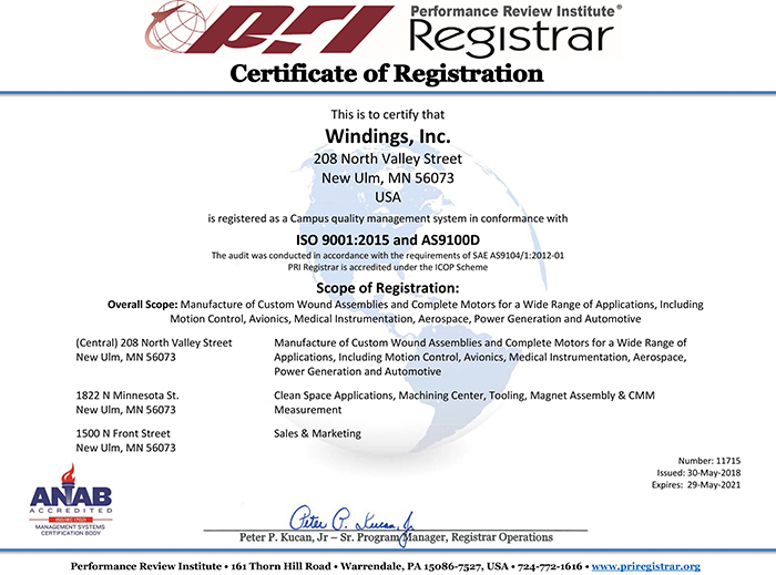 Campus Quality Management System Certification