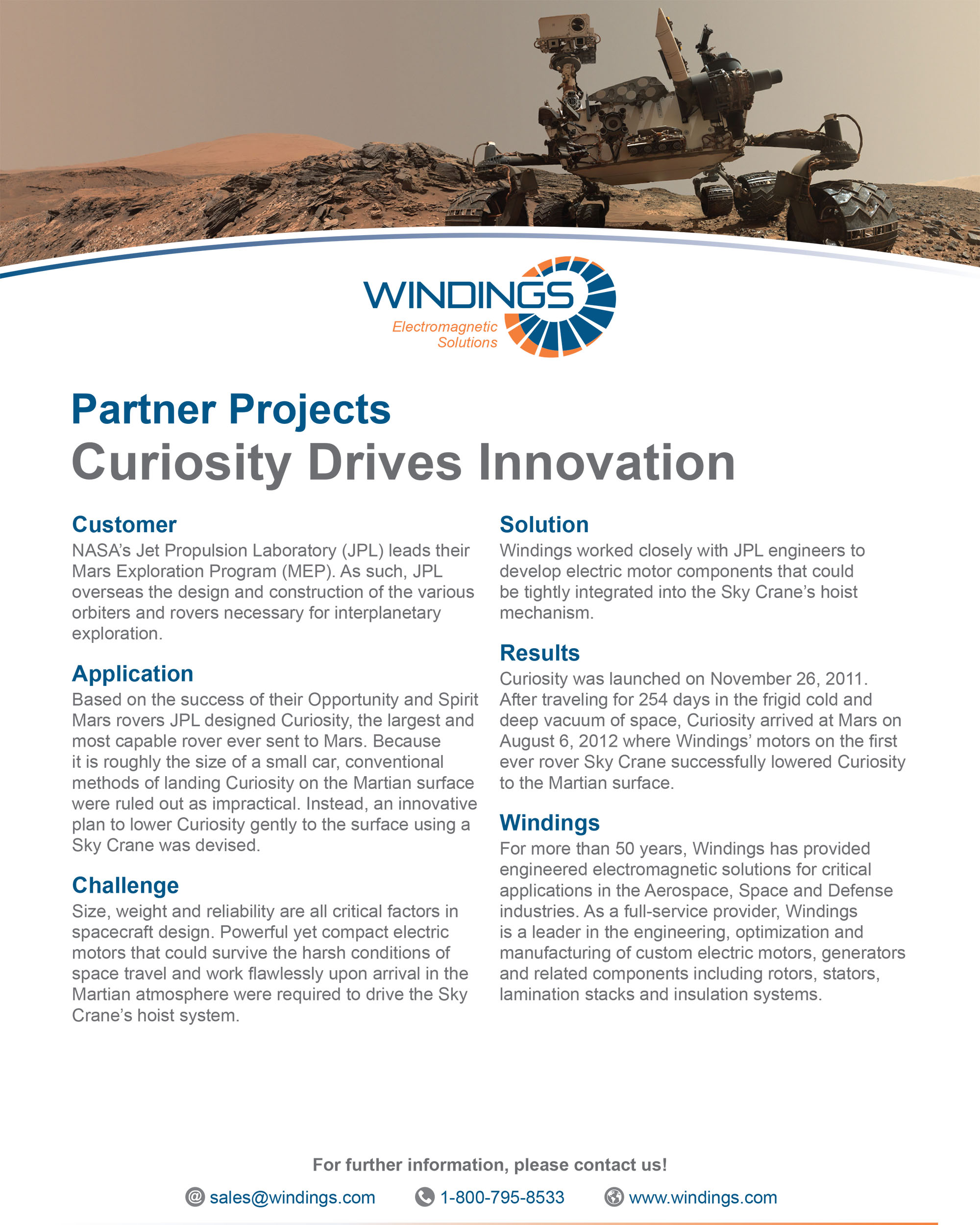 Partner Project - Curiosity Innovation Space