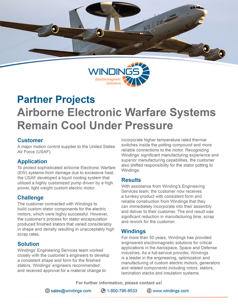 Partner Project - Airborne Electronic Warfare Systems