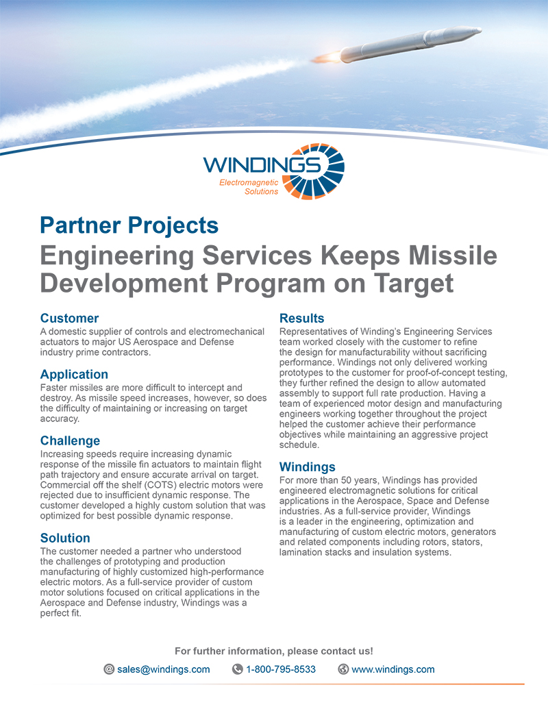 Partner Project - Missile Development Program