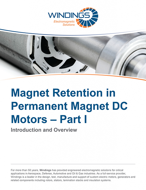 Magnet Retention in Permanent Magnet Motors - Part I