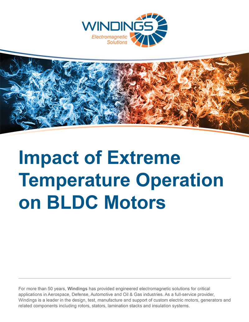 Impact of Extreme Temperature Operation on BLDC Motors