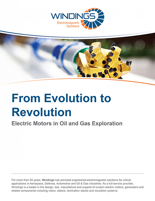 Whitepaper - Electric Motors in Oil and Gas Exploration
